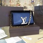 Louis Vuitton M51633 Chain Louise GM Black