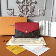Louis Vuitton M60140 Pallas Compact Wallet Monogram Cherry