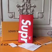 Louis Vuitton x Supreme Brazza Wallet Epi Red M60622