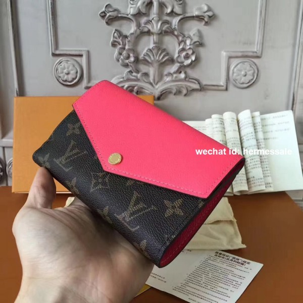 buy popular c4532 1ba79 Louis Vuitton M60990 Pallas Compact Wallet Monogram