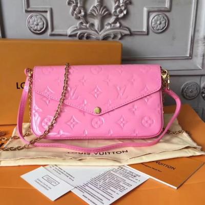 Louis Vuitton M61267 Pochette Félicie Monogram Vernis Leather