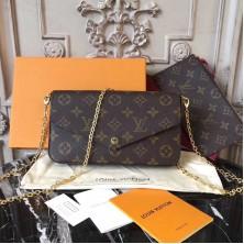 Louis Vuitton M61276 Pochette Felicie Monogram