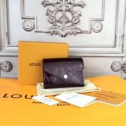 Louis Vuitton M62427 Victorine Wallet Monogram Vernis Leather Amarante