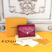 Louis Vuitton M62429 Victorine Wallet Monogram Vernis Leather Cerise