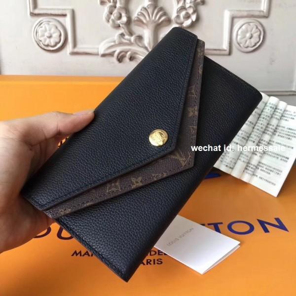 best website 66989 b4130 Louis Vuitton M64319 Double V Wallet Monogram Taurillon ...