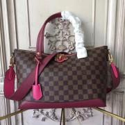 Louis Vuitton N41015 Hyde Park Damier Ebene Fuchsia