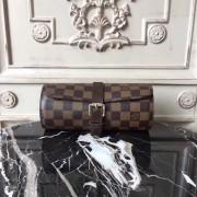 Louis Vuitton N41137 3 Watch Case in Damier Ebene Canvas