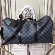 Louis Vuitton N41418 Keepall 45 Bandoulière Damier Graphite Canvas