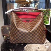 Louis Vuitton N41460 Delightful MM Damier Ebene Canvas