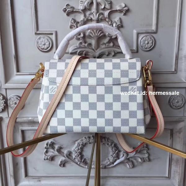 Louis Vuitton N41581 Croisette Damier Azur Canvas 4cb9604bf888f