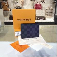 Louis Vuitton N62663 Multiple Wallet Damier Graphite Canvas