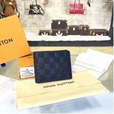 Louis Vuitton N63124 Multiple Wallet Damier Infini Leather