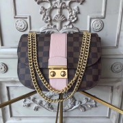 Louis Vuitton N64418 Wight Damier Ebene Magnolia