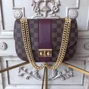 Louis Vuitton N64420 Wight Damier Ebene Bordeaux