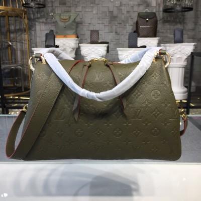 Louis Vuitton M43669 PONTHIEU PM Kaki Fango