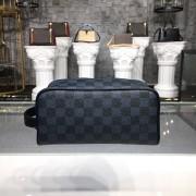 Louis Vuitton N50000 Washbag Damier Cobalt Canvas